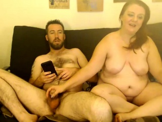 Chubby fit together with regard to broad in the beam bowels handjob