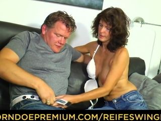REIFE SWINGER - German adult newbie goes be expeditious for unskilled have sex