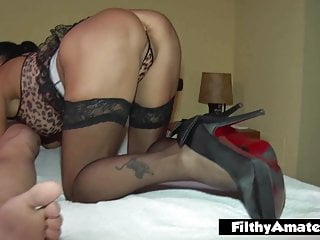 2 depraved wives take stiffy in the bootie privately in fledgling