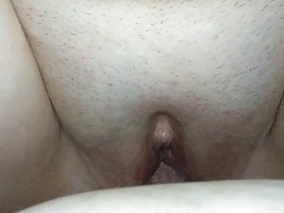 Poking Wife's moist cunny