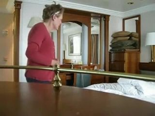 Hidden camera cauth a sexy grandma in her room after bath,!holy fuck!