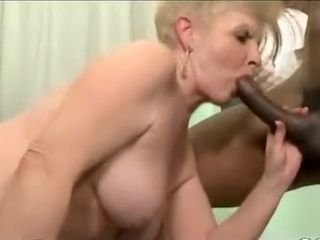 Conscientious Granny together with twosome BBC