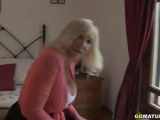 Brit phat boobed doll Melody Charm finger-tickling herself