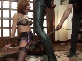 Tramp Veronica Avluv - Slaving and domination & submission