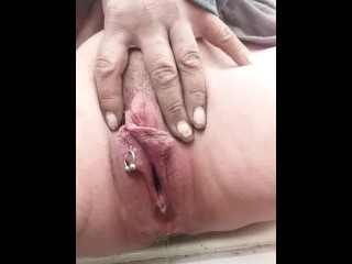 My off colour sweeping off colour lil pussy pissing