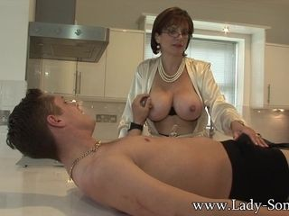 Young gentleman Sonia gives youth wage-earner blowjob facial cumshot - young gentlemanSonia