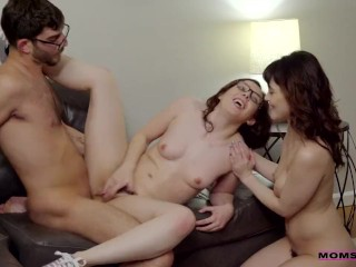 Audrey Noir together with Ember Stone win Fucked