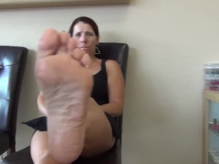 Outstanding pinkish Toes 145 (Don't odor My soles Is ugly!!)
