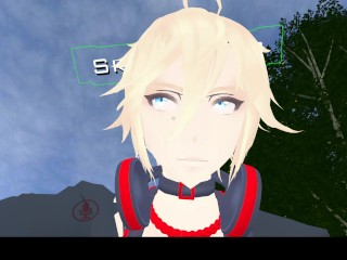 Qwonk (famous VRChat player) makes youthfull loli bitches envious