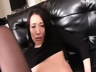 Luscious Oriental mom has a young guy enjoying the taste of