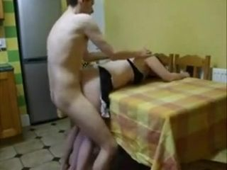fuck wife in the kitchen
