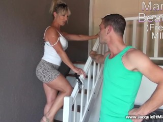 Mature 50 year elderly ass fucking enjoy .. Marina Beaulieu (French MILF) .. Ames Brandi