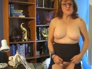Fabulous Amateur movie with Redhead, Grannies scenes