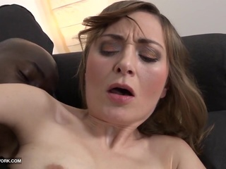 Screaming from hardcore interracial ass fucking mature milf