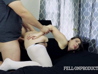 MILF Madisin Lee in Mom Fucks Son and gets Creampie in GFE with Mom