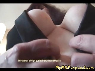 My MILF uncover clumsy granny akin to beamy breast regular pussy