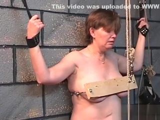 Lady suffers restrain bondage bang-out At Home In Dilettante flick