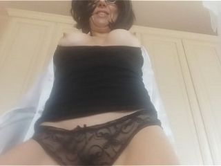 Step mother CHANTAL surpize you while u wear her g-string