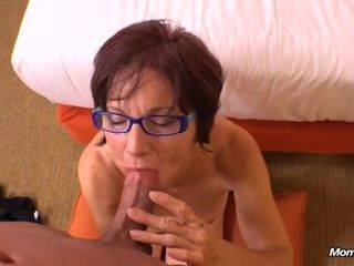 Grandmother sates firm knob with all her fuckfest practice