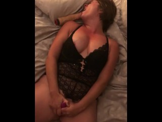 Real first-timer cougar climax