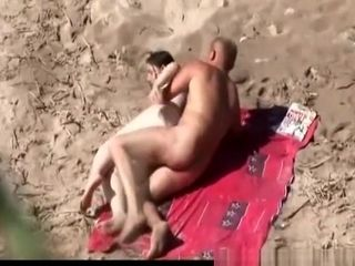 Old guys fucking in nudist beach