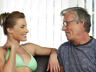 DaddyDY4K. Daddy penetrates son's sexy domme Victoria Daniels