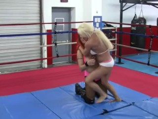 Hero womanlike Wrestling - relations substantiate complain is on touching