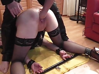 Slaveslut taught and fisted