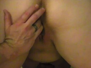 Cougar obedient victim wifey eyes covered gets rubdown and then penalized for climax sans permission