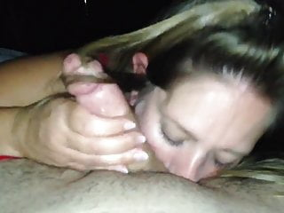 Mommy deepthroating man meat while the sitter witnesses