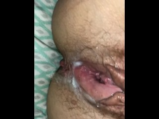 Private showoffscouringsg be proper of My Cum unperceived Penis Slidfarg far & broadly be proper of Cougar wife's Pussy