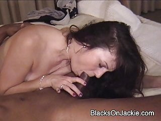 Dark-hued caboose anilingus housewife is screwed in the caboose!