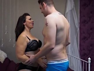 Blue prudish beamy chest british female parent fucks younger