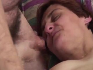 Hairy mature couple
