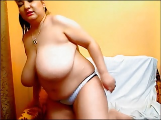 BBW Mature Babe With Huge Tits