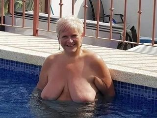 BBW Matures Grannies increased by Couples spirited be passed on Nudist discrimination