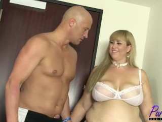 Colossus flaxen-haired BBW Lila bonny gets fucked