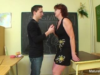 College girl penetrates His Much elderly educator - Mature'NDirty