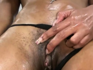 Ebony MUM Deep Throats a Cock