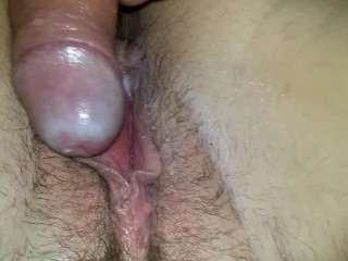 Macro shot internal ejaculation by my fellow while thinking about him and his pal cuming
