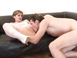 French aged grannie mature with youthfull stud knuckle assfuck