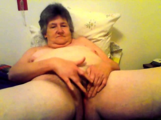 Ugly without equal on every side roasting granny toying pussy
