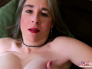 USAwives Milf Marie flimsy Pussy bagatelle reproach