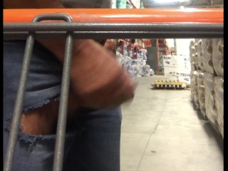 Busting a scrotum at the Home Depot