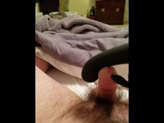 Along to wife's drivel vibrator diet me cum