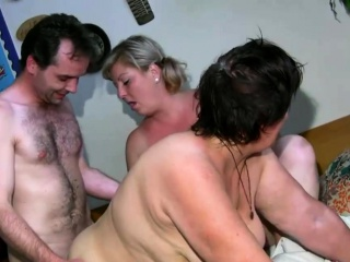 Granny Showered coupled with Pleasured