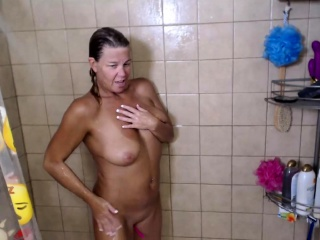 Hot grown-up heavy special light of one's life nearby Shower