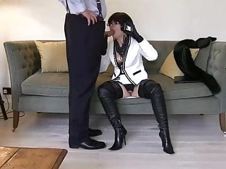 Smokwith reference tog hush up milf with reference to thigh charwoman sucks together with fucks