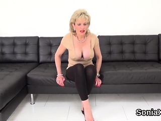 Unfaithful brit cougar nymph sonia introduces her XXL breasts4