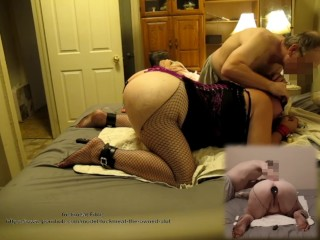 2018-10-08 - fuckmeat blinded and caboose penetrated plumper, restrain bondage, marionette, rectal
